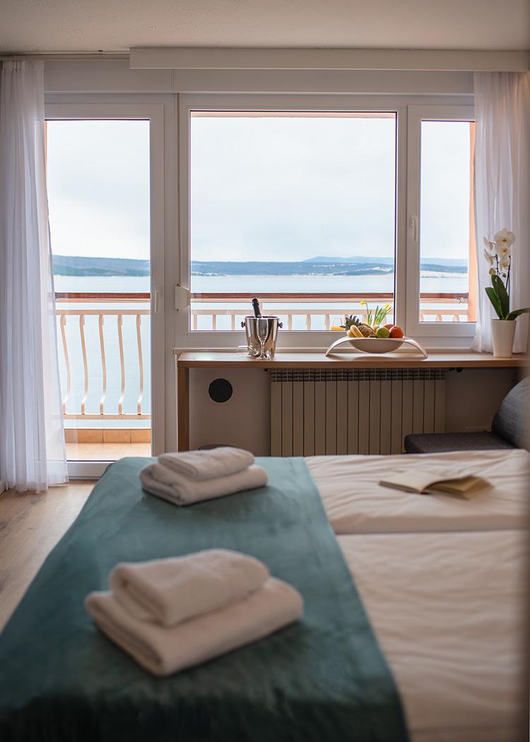 Hotel Mediteran Crikvenica pogled